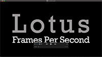 60 Second Lotus Frames Per Second Trailer